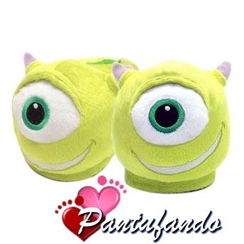 Pantufa 3d Mike Monstros Sa