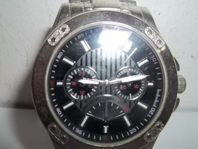 Relógio Quartz Chinês Funcionando Muito Conservado