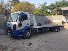 Guincho Plataforma 10.50 Mts Ford Cargo 1517 2012