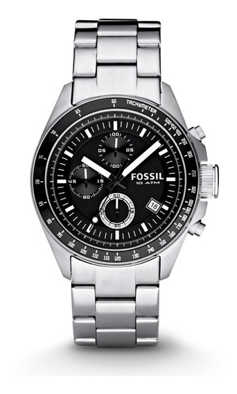 Fossil Decker Chronograph Black Ch2600 ............ Dcmstore