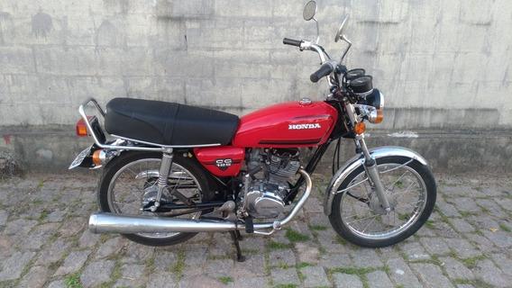 Honda Cg 1982 Placa Preta