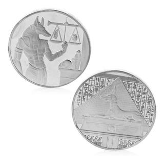 Monedas Egipcias Dios Anubis