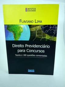 Direito Previdenciário Concursos Teoria E 180 Questões