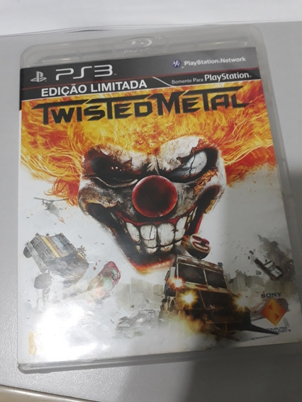 Twisted Metal Ps3 Mídia Física.