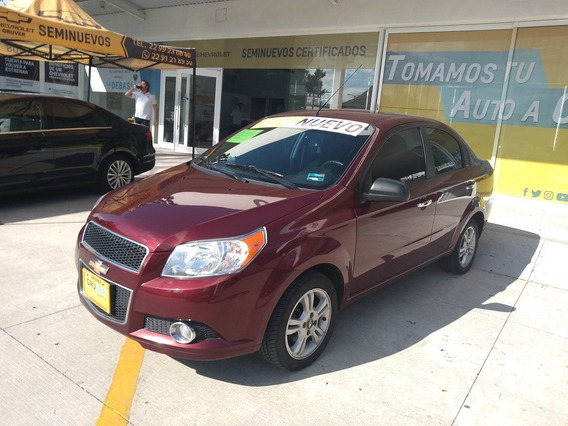 Chevrolet Aveo 4 Ptas E Aut. 2017