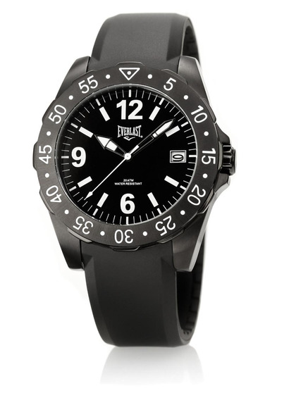 Relógio Pulso Everlast Masculino Silicone Calendário E270
