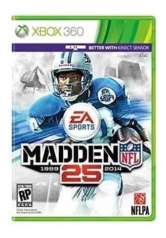 Madden 25 1989-2014 Xbox 360 Original
