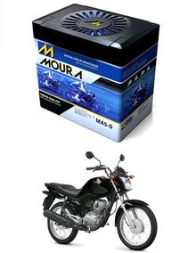 Bateria Moto Honda Cg/fan 150 - Moura Ma5-d