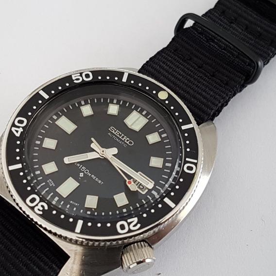 Seiko Scuba Diver Automático 6105 8000 Top Tp Vidr0 Yy #631