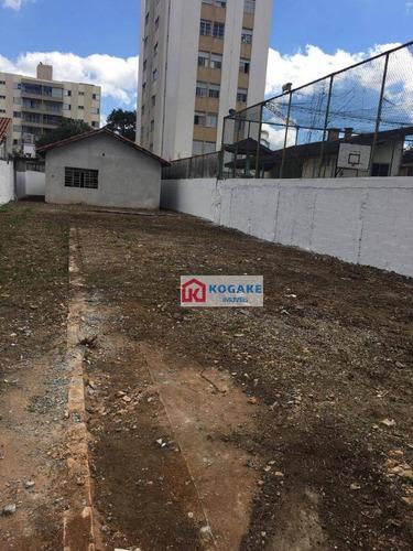 Imagem 1 de 8 de Terreno, 448 M² - Venda Por R$ 1.200.000,00 Ou Aluguel Por R$ 3.500,00/mês - Vila Ema - São José Dos Campos/sp - Te0933
