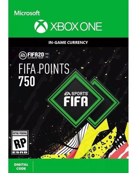 750 Points Fifa 20 - Xbox One Código 25 Digitos