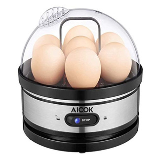 Aicok Egg Cooker, Stainless Steel 7 Capacity