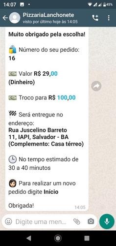 Imagem 1 de 5 de Whatsapp Atendimento Automático