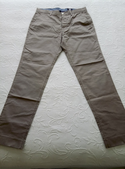Pantalon De Vestir Caballero Hm Slim Fit