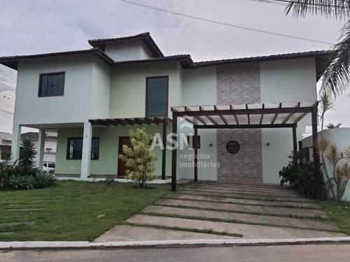 Linda Casa De 3 Quartos No Vale Dos Cristais Em Macaé /rj - Ca0375