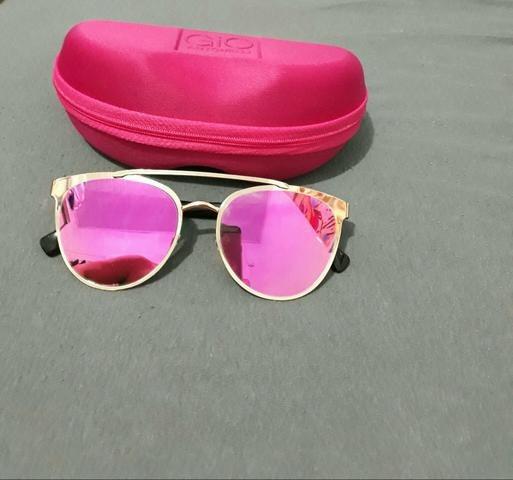Óculos De Sol Marca: Giovana Antonelli Proteção Uv