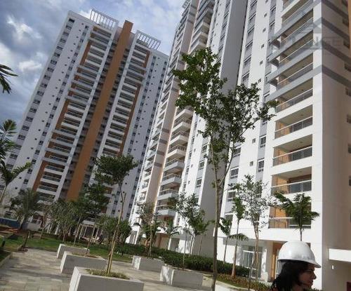 Imagem 1 de 10 de Apartamento Com 3 Dormitórios À Venda, 119 M² Por R$ 1.170.000,00 - Jardim Belo Horizonte - Campinas/sp - Ap10377