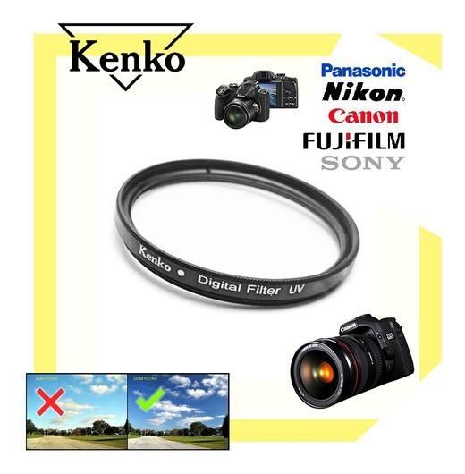 T6i - Filtro Lente 58mm Uv Kenko O Melhor Canon Kit C/ 10