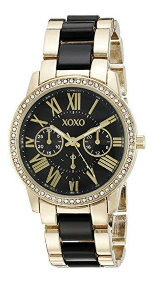 Xoxo Xo5874 - Reloj De Brazalete Para Mujer, Tono Dorado