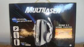 Headphone Com Microfone Fone 5.1 Home Theater