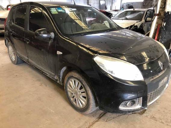 Renault Sandero 1.6 N. 16v K4m Chocado Y Dado De Baja