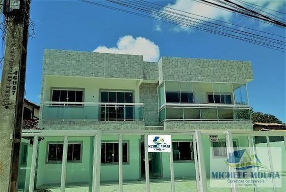 Apartamento 2 Quartos Para Venda Em São Pedro Da Aldeia, Balneário São Pedro, 2 Dormitórios, 1 Suíte, 2 Banheiros, 1 Vaga - 174