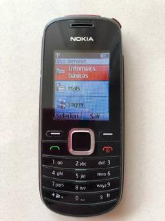 Celular Nokia 1661 Lanterna Radio Fala Hora Apertando 2 Boto