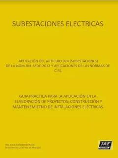 Libro Subestaciones Eléctricas