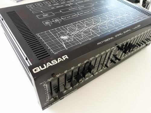 Equalizador Quasar Qe-10.000  Bom Estado Funcionando