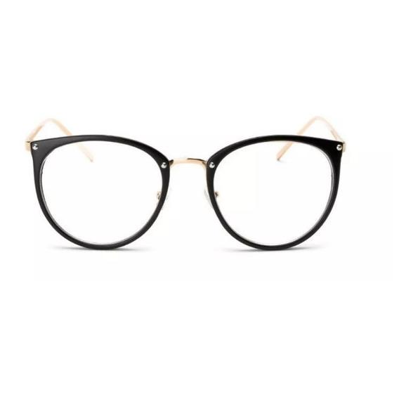 Oculos De Grau Feminino Armação Em Acetato Geek Vintage Gato