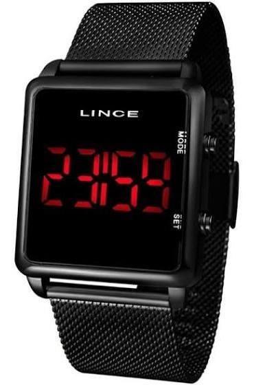 Relógio Lince Preto