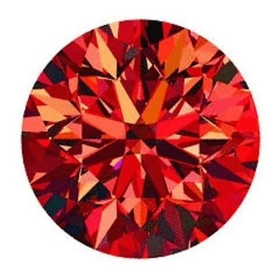 Diamante Rojo 2.5mm 100% Naturales