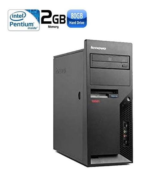 Pc Lenovo Pentium 2gb Hd 80gb