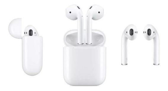 Fone Bluetooth AirPods Sem Fio Original Apple Com Garantia
