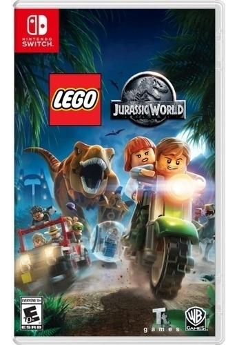 Lego Jurassic World Switch Midia Fisica Novo Portugues