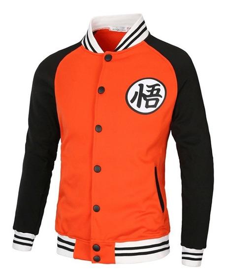 Chaqueta Suéter Béisbol Deportiva Wukong Manga Larga Hombres
