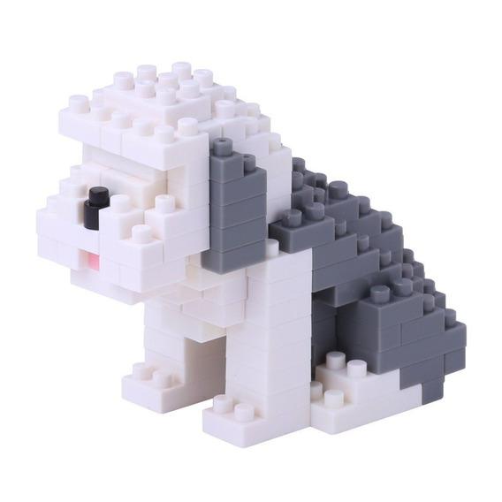 Nanoblock Perro Old English Juguete Rompecabeza Juego Regalo