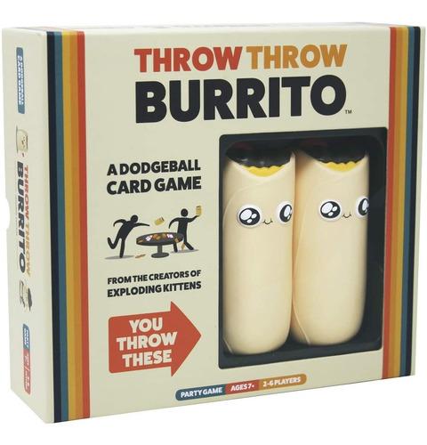 Imagen 1 de 8 de Throw Throw Burrito By Exploding Kittens - Un Juego De Carta
