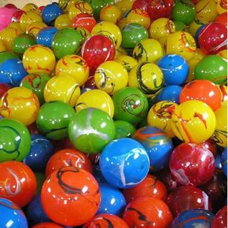 40 Bolas Bola Grandes De Vinil Coloridas Kiko