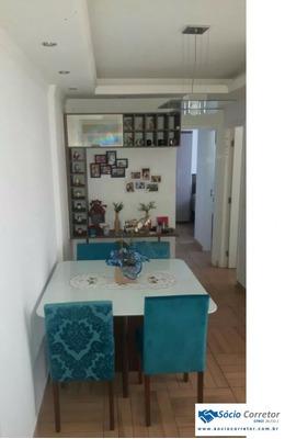 Apto 60m² No Condomínio Spazio Centro De Guarulhos - Apartamento A Venda No Bairro Vila Das Palmeiras - Guarulhos, Sp - Sc00250