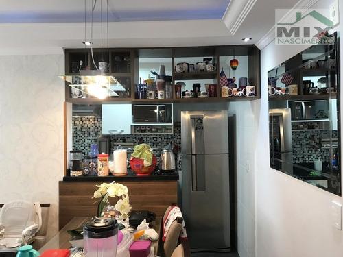Imagem 1 de 7 de Apartamento Em Taboão - São Bernardo Do Campo, Sp - 2851