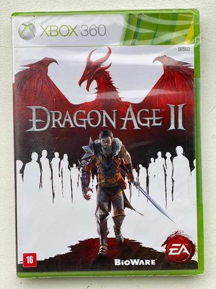 Jogo Dragon Age 2 Xbox360 Novo