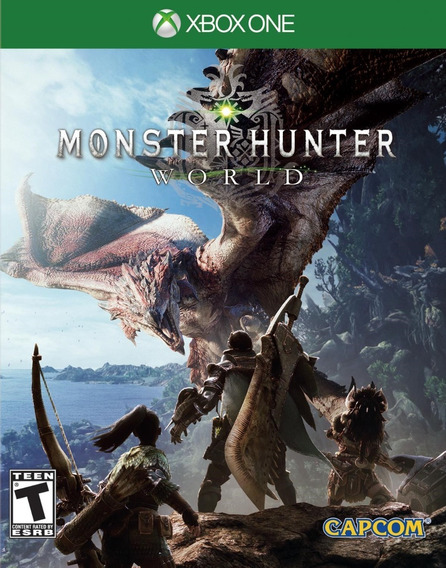 Monster Hunter World (mídia Física Leg Pt-br) Xbox One