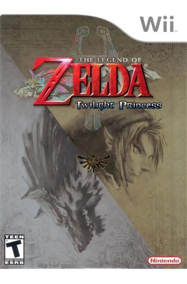 The Legend Of Zelda Twilight Princess - Wii Novo Lacrado