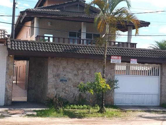 Linda Casa Na Praia Do Indaiá - Bertioga - Sp