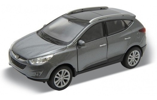 Hyundai Tucson Escala 1:36 Welly Plomo