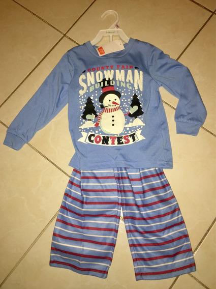 Pijama Niño 3 T Marca Joe Fresh De Jcpeney Americana