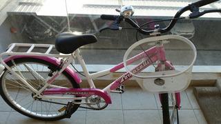 Bicicleta Tomaselli Lady Rodado 26 Canasto. Nueva