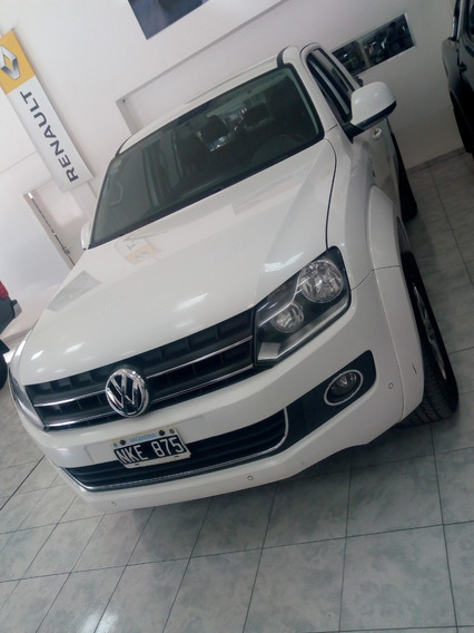Volkswagen Amarok Tope De Gama Automatica 4x4 2014