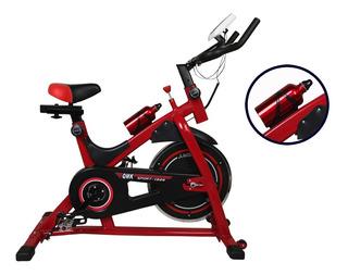 Bicicleta Spinning Profesional Reforzada Disco 13kg Real